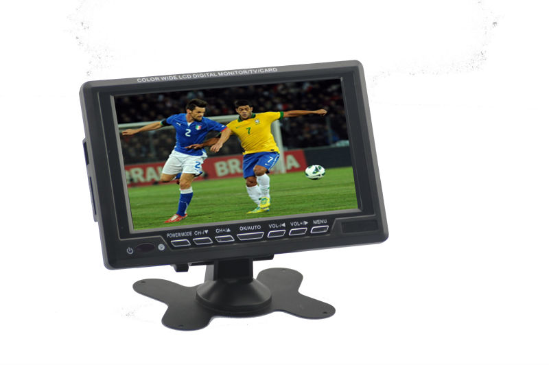 7inch lcd mini tv with sd card reader