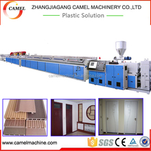 WPC board profile extrusion machine wood plastic composite board production line wpc decking board making line