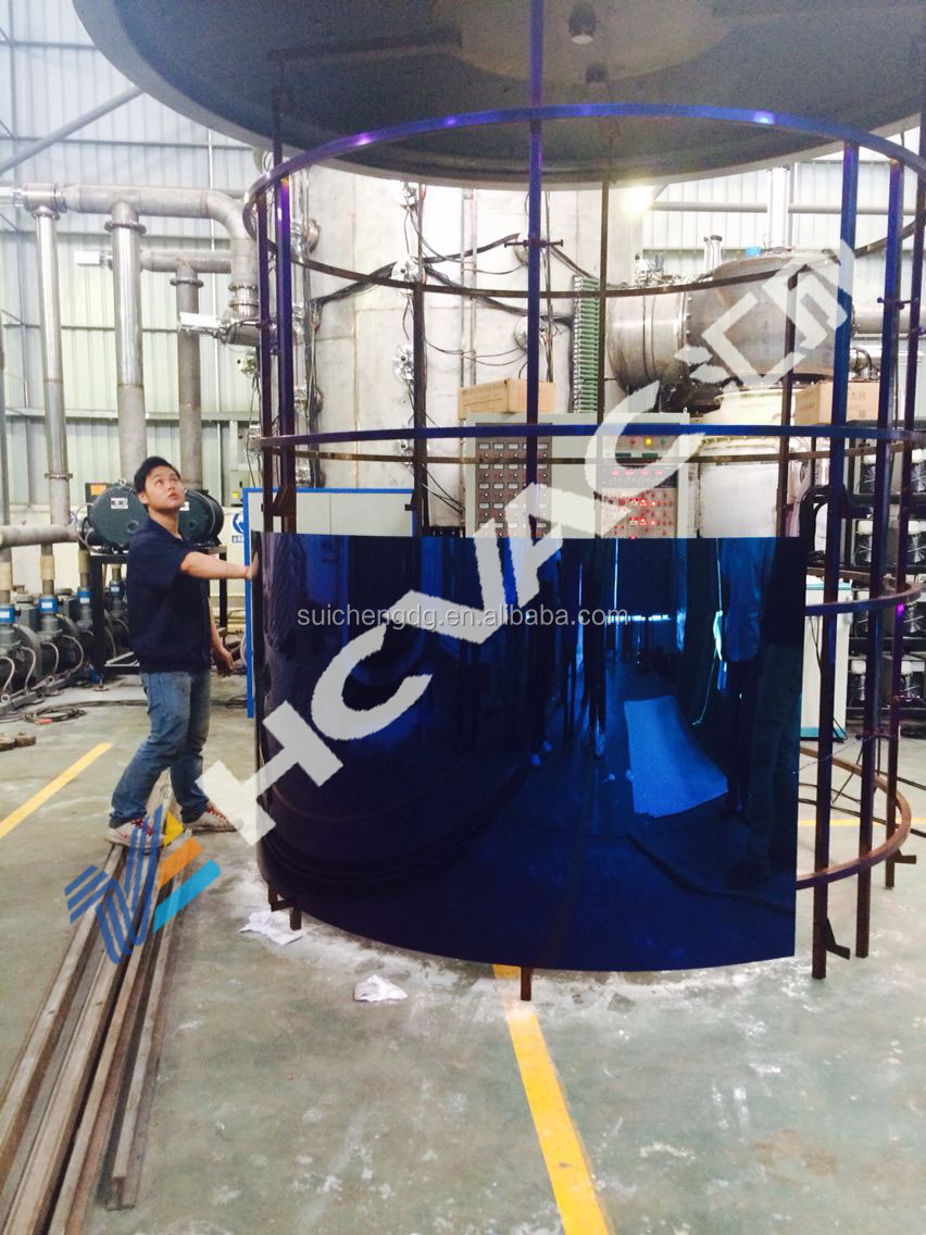 Decorative stainless steel sheet&pipe vacuum coating machine/black gold stainless steel plate pvd coating machine/vacuum coater
