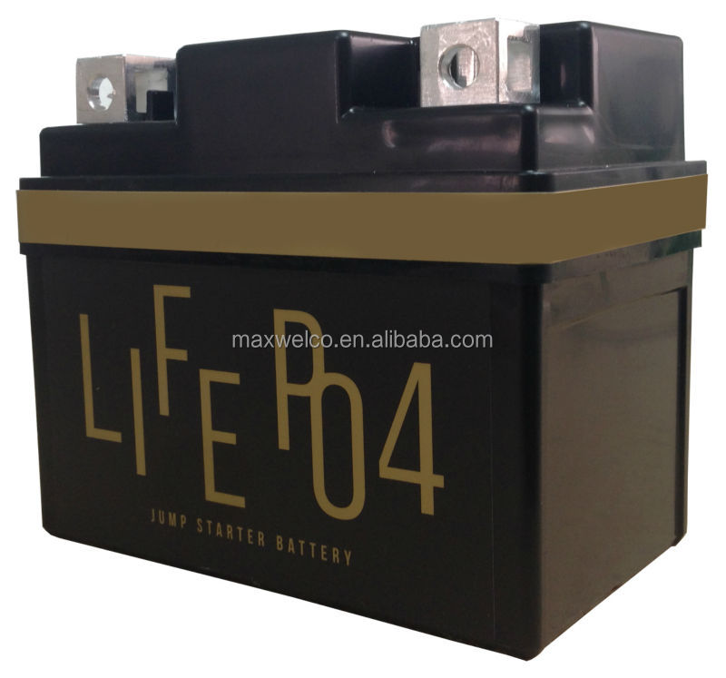 Motorcycle / Motorbike Starter LiFePO4 Battery