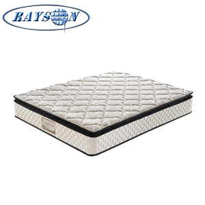 Cheap Inner Spring Mattress Pillow Top Pocket Spring Memory Foam Royal Mattress