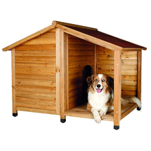 outside factory direct wholesale wooden waterproof dog kennel