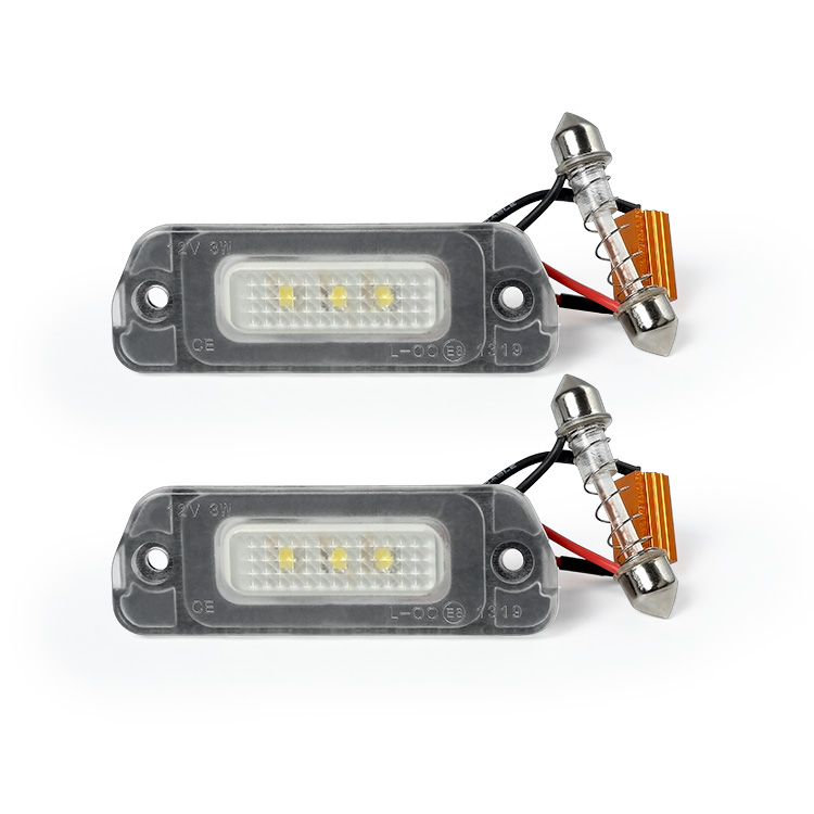 OEM A 251 820 01 66 LED License Plate Light <strong>for</strong> <strong>W164</strong> W251 X164