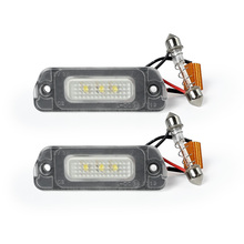 OEM A 251 820 01 66 LED License Plate Light for <strong>W164</strong> W251 X164