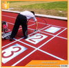 rubber running track/synthetic rubber flooring for running track
