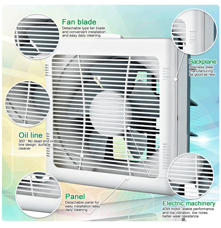 Louvered Wall-mounted Ventilator (KHG15-G2)