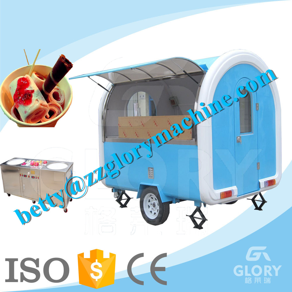 Outdoor Mobile Kitchen Food Catering Food Cart