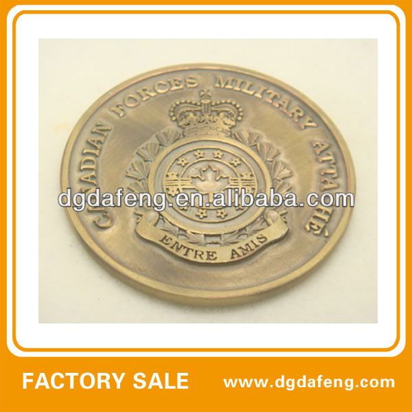 casting and enamel alloy coin