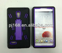 For LG L9 P769 hybrid robot combo case with stand