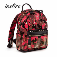 Mini pu backpack with special pattern lady outdoor schoolbag student fashion back bag
