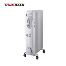 3 Setting Electric Oil Filled Heater With Cord Storage