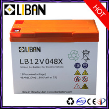 Lightweight 12v Deep Cycle Lead Acid Battery For a Motorcycle