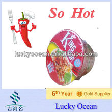 bowl Instant noodles with shrimp flavour