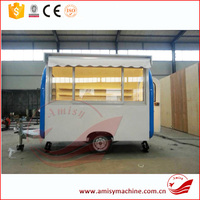 Commercial Street Mobile Food Warmer Cart For Sale