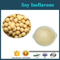 GMP Factory Supply with Soybean Extract/Soy Isoflavone/Isoflavone Powder