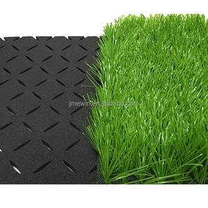 Sports playground xpe artificial grass rubber synthetic turf absorbing underlay shock pad