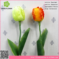 real touch small tulips for centerpieces high quality artificial silk flowers
