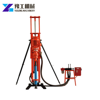 Great Drilling Capability Full Hydraulic Portable DTH Anchor Drill Rig