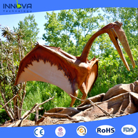 Innova -Amusement park life size real robotic Animatronic dinosaur model Raptor for sale