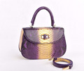 Python lady box bag python snake bags exotic handbags fashion