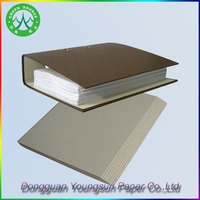 Grade AA grey cardboard manufacture for file holder