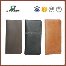 5.5 inch mobile phone case universal smart phone wallet style leather case