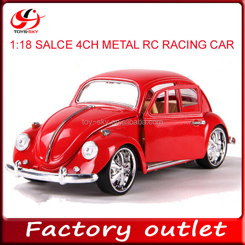 singapore hot sale toy 1:18 scale 4ch die cast RC racing car wholesale diecast cars