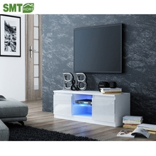 Modern new model MDF wood living room led tv stand table