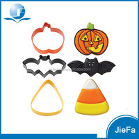 Safety Baking Tool Cute Biscuit of Halloween Cookie Cutters