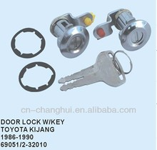 Door lock with key FOR TOYOTA KIJANG