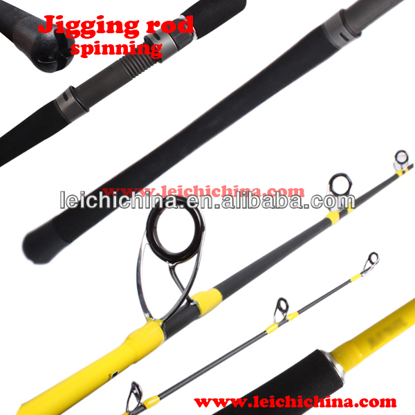 Superior quality fuji reel seat carbon best jigging rod