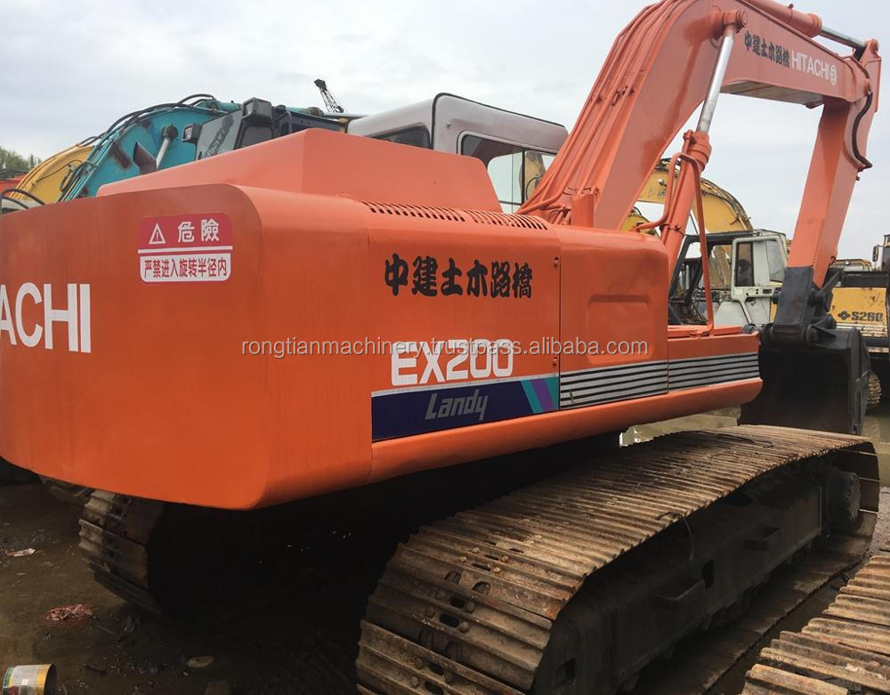 Good quality used hitachi excavator EX200 for sale/ hitachi excavator with low price