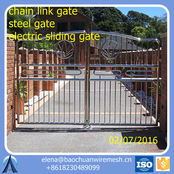 sliding gate design / steel gates grill design