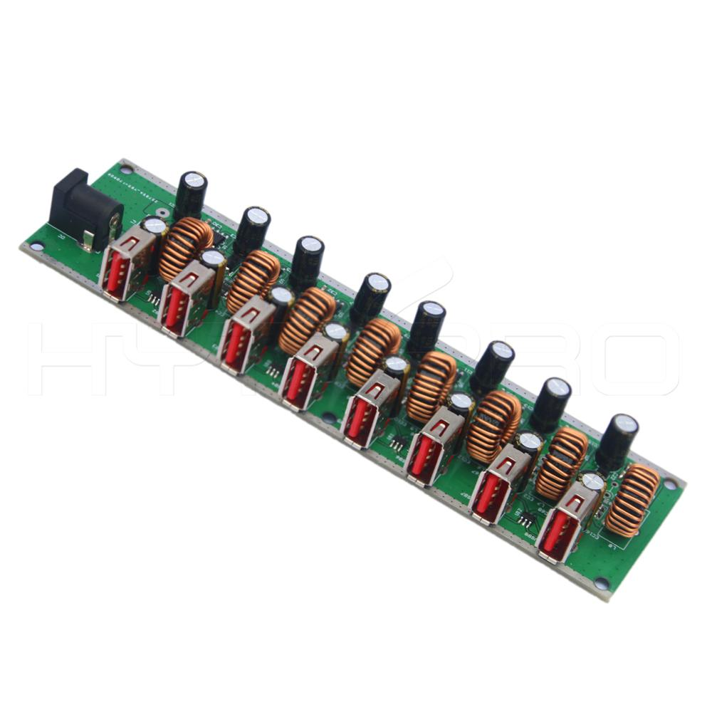 High safety 3.1 usb hub 8-port led tv pcb board supply