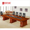 Guangzhou Hot selling Products MDF wood veneer Conference Table specifications (FOH-H6033)