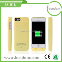 BS-I5-L 2200mah 3 in 1 external battery case for iphone 5 5c 5s charger case