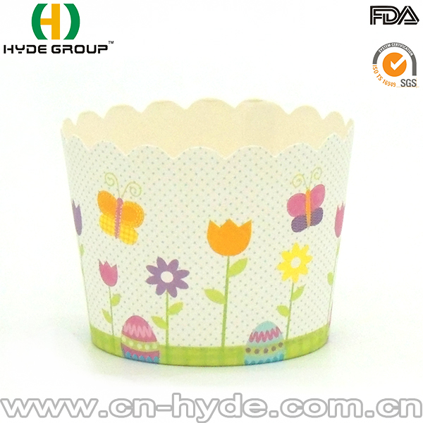 Cute Custome Souffle Paper Baking Cup For Cake