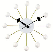 nelson George ball shape wall clock for promotion (HD-1001)