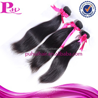 Wholesale best quality peruvian remy orange hair extension