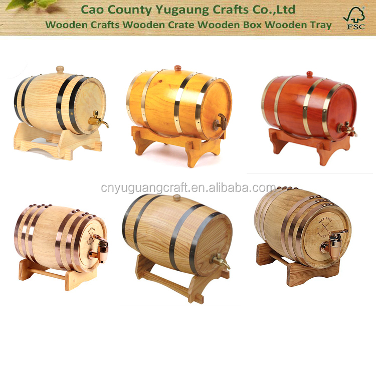 wholesale wooden oak whicky barrel beer barrel wine barrel