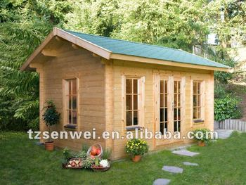 wooden panel home, garden house, earthquake proof wooden house
