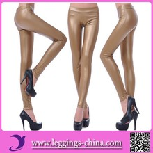 2015(FGGY001)High Quality Mature Sexy Pictures Leather Leggings For Women