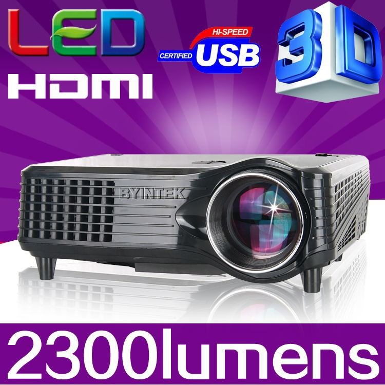 1080P LCD Mini FUll hD Video 3D LED Projector Proyector Beame