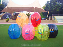 2014 Best selling clear glass bubble ball for kids activity &taking exercise