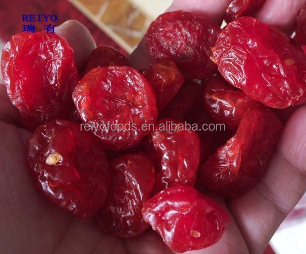 dried fruits cherry tomatoes