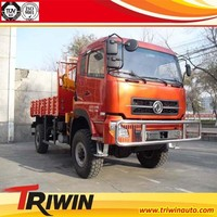 3 TON DONGGRNG 4 WHEEL DRIVE ALL TERRAIN TRUCK MOUNTED CRANE VEHICLE