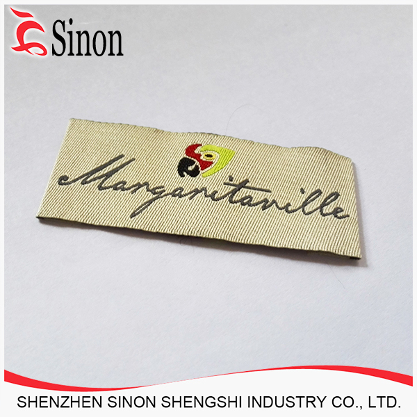 cheap brand name label wholesale clothing private labe woven clothing label for clothing