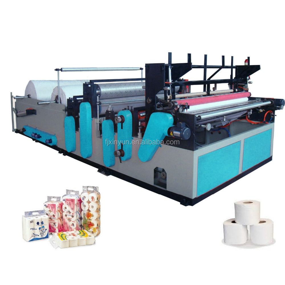 Automatic Hygienic Tissue Machine to produce small toilet paper roll