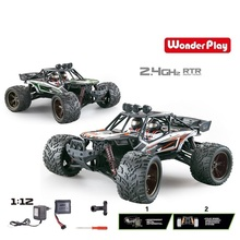 Hot Super 1:12 2.4G RTR High Speed Truck RC Car Electric Desert Truck RTR RC Car Off Road Buggy