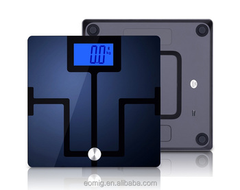 AOEOM IOS&Android Bluetooth Body Fat Analyzing scale